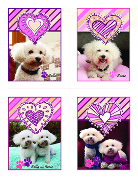 Free Bella and Rosie Valentines (Set of Four) #2