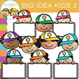 Free Big Idea Kids Clip Art - Set Two