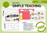 Free Bilingual Toy Shop Game - Juego de la Juguetería Gratis
