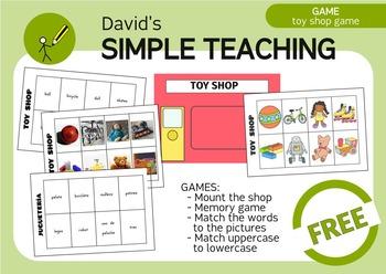Free Bilingual Toy Shop Game Juego De La Jugueteria Gratis Tpt