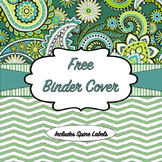 Editable Free Binder Cover