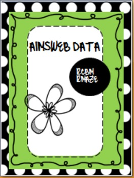 Free Binder Covers for Lesson Plans, Aimsweb Data & Dibels Data
