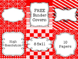 Free Binder Covers in Unique Styles