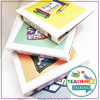 Themed Binder Spines and Covers