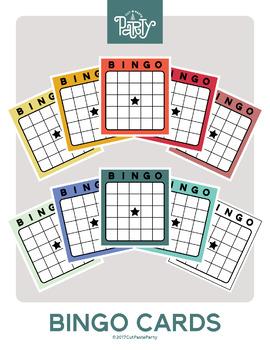 Free Bingo Card Clipart