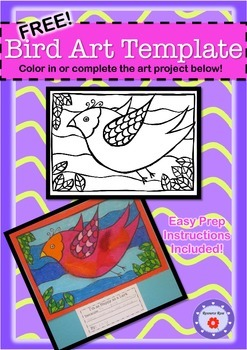 Art Activity & Writing Prompt FREEBIE