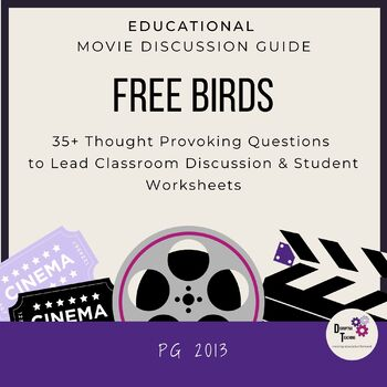 Free Birds Movie Discussion Guide! Great for Thanksgiving!