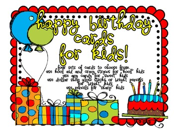 Free-Birthday Cards for Kids
