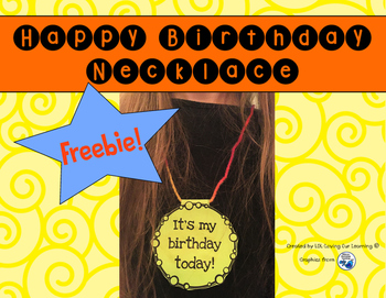 Free Birthday Necklace!
