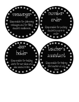 Free Black Circle Label Pack 3 Jobs