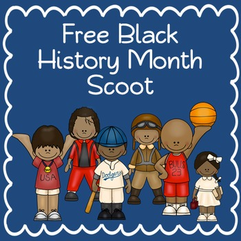 Free Black History Month Scoot