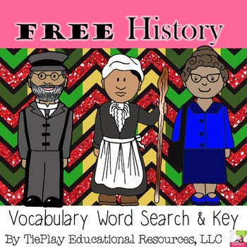 FREE Black History Word Search and Key