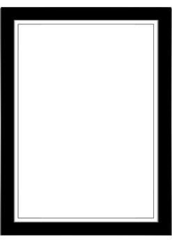 Free Black & White Frames