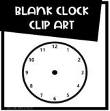 Free - Blank Analog Clock