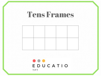 Tens Frames (Freebie)