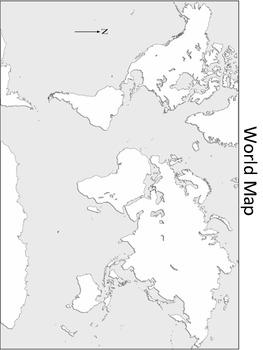 Free Blank World Map