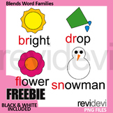 Free Blends Clip Art (word families clipart) beginning ble