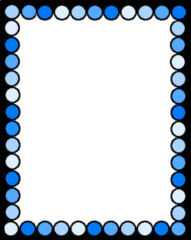Dotted Blue Border