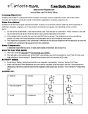 Free Body Diagram Game Puzzle with Worksheet
