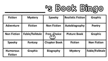 Free Book Bingo