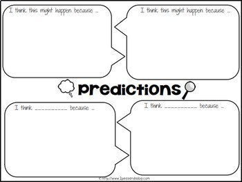 Reading Strategies Placemats