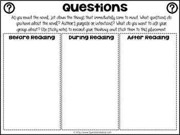 Reading Strategies Graphic Organizers Distance Learning