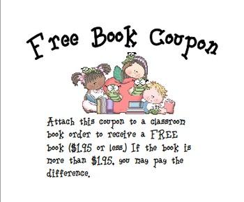 Free Book Coupon