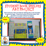 Free Book Shelf Art Project