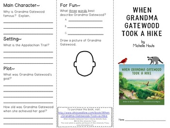 When Grandma Gatewood Took A Hike - Free Book Study for Comprehension