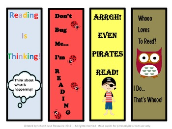 Free Bookmarks!
