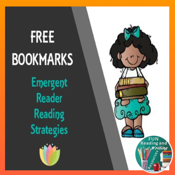 Free Bookmarks - Emergent Reader Reading Strategies
