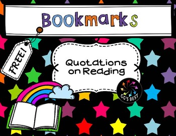 Bookmarks with Quotations (Color)