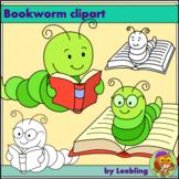 Free Bookworm Clipart