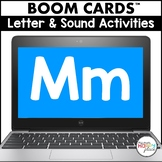 Free - Boom Cards Letter M Activities (Digital Task Cards)