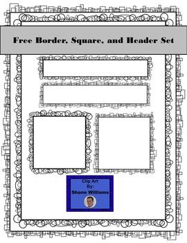 FREE Border Square and Header Set