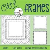 Free Borders Clip Art, square and rectangular!