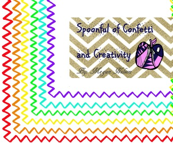 Free Borders! {Confetti and Creativity Clip Art}