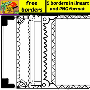 Free Borders - Set 1