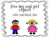 Free Boy and Girl Clipart