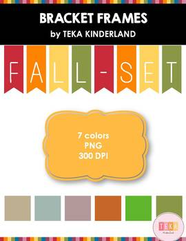 Bracket Frames-Fall Set {Teka Kinderland}