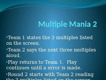 Free Brain Break Multiple Mania