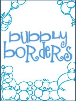 Free Bubbly Borders
