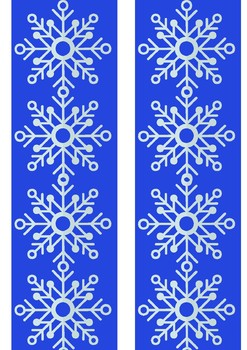 Free Bulletin Board Borders for Winter Holidays