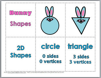 2D Shapes For Kindergarten