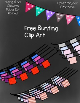 Free Bunting Clip Art ~ Transparent - 15 png images