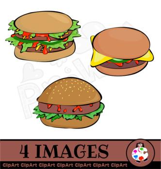 Free Burger Clip Art