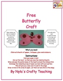 Free Butterfly Craft for all Ages