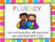 Free CAFE Reading Strategies Headers - Rainbow Tiles Version