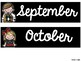 Free Calendar Printables - Black and White Themed