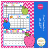 Free Calendar for Teachers